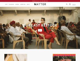 matter-prints.myshopify.com screenshot