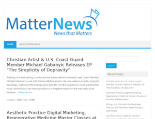 matternews.com screenshot