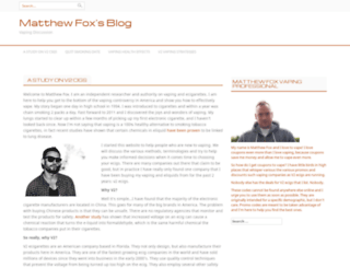 matthew-fox.net screenshot
