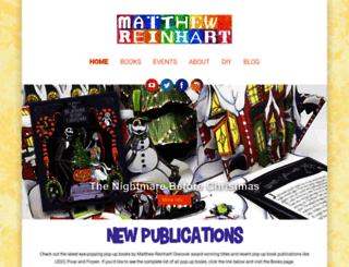 matthewreinhart.com screenshot