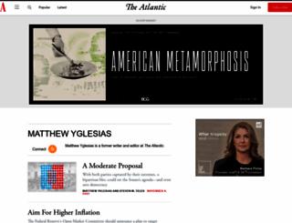 matthewyglesias.theatlantic.com screenshot