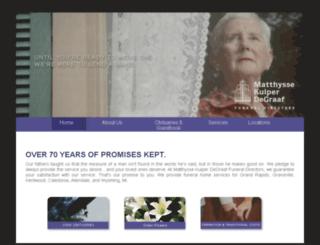 matthysse.worldsecuresystems.com screenshot