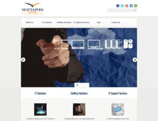 mattipartners.com screenshot
