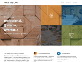mattisoncorp.com screenshot