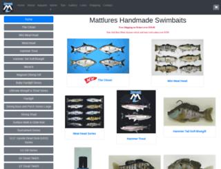 mattlures.com screenshot
