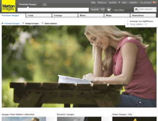 mattonimages.co.uk screenshot