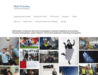 mattpriestley.co.uk screenshot