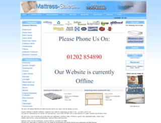 mattress-sales.co.uk screenshot