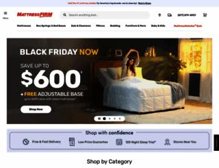 mattressfirm.com screenshot