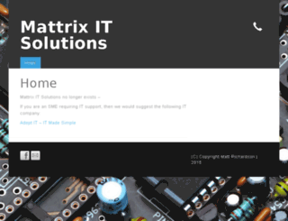 mattrix-it.com screenshot