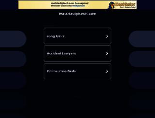 mattrixdigitech.com screenshot