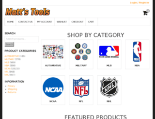 mattstools.com screenshot