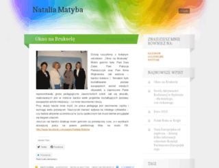 matyba.wordpress.com screenshot