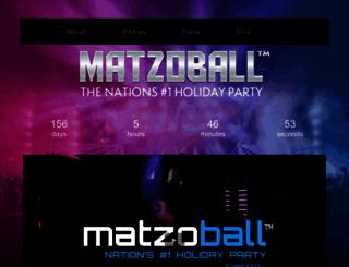 matzoball.org screenshot