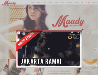 maudyayunda.com screenshot
