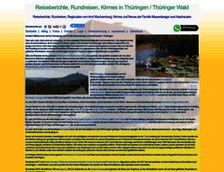 mauersberger-haarhausen.de screenshot