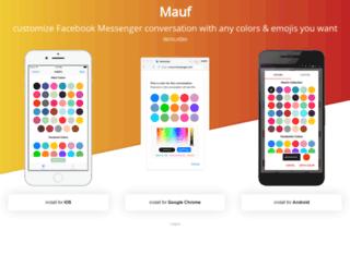 mauf.codekiem.com screenshot