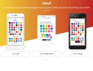 mauf.me screenshot