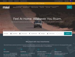 maui.com.au screenshot