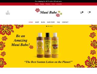 mauibabe.com screenshot