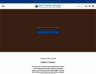 mauidivers.com screenshot