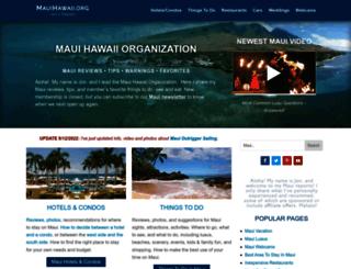 mauihawaii.com screenshot