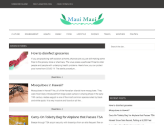 mauimaui.org screenshot