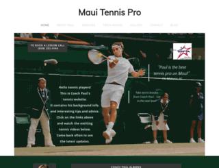 mauitennispro.com screenshot