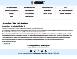 maujor.com.br screenshot