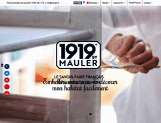 mauler.fr screenshot