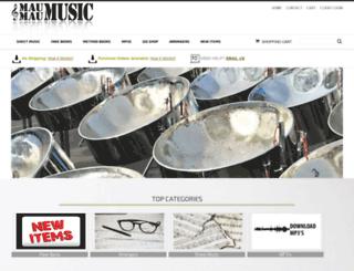 maumaumusic.com screenshot