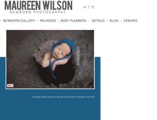 maureenwilsonphotography.com screenshot