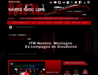 mauriceradiolibre.com screenshot