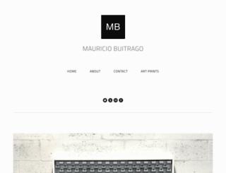 mauriciobuitrago.com screenshot