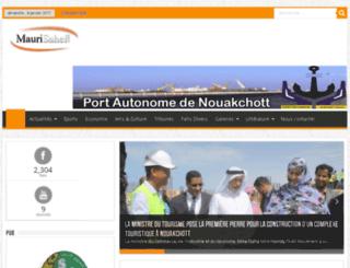 maurisahel.net screenshot