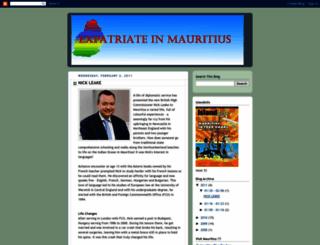 mauritius-expatriate.blogspot.com screenshot