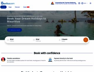 mauritius.com screenshot