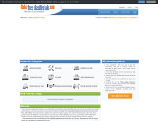 mauritius.global-free-classified-ads.com screenshot