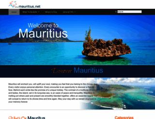 mauritius.net screenshot