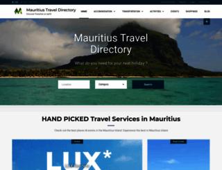 mauritiusdirectory.org screenshot