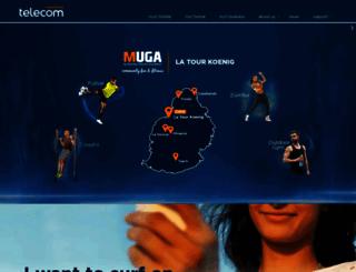 mauritiustelecom.com screenshot