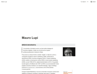 maurolupi.com screenshot