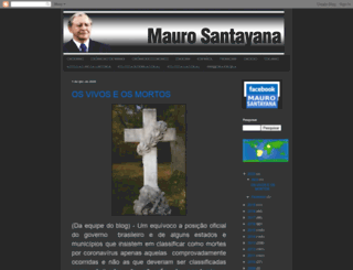 maurosantayana.com screenshot