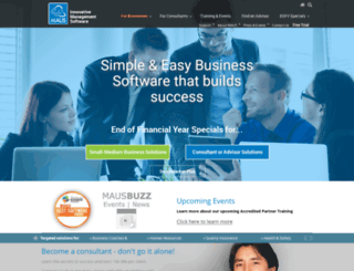 maus.com.au screenshot