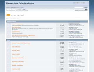 mauserguns.com screenshot