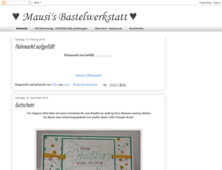 mausi76.blogspot.com screenshot
