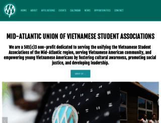 mauvsa.org screenshot