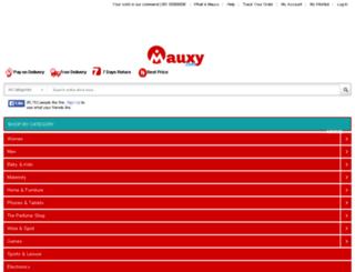 mauxy.com screenshot