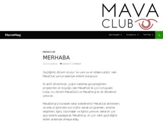 mavaclub.ku.edu.tr screenshot