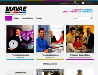 mavae.cl screenshot